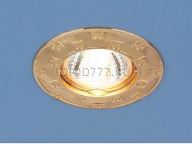 Точечный светильник для подвесных, натяжных и реечных потолков 7202 золото (G)