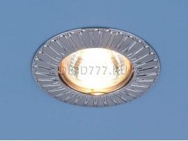 Точечный светильник для подвесных, натяжных и реечных потолков 7203 сатин хром (SCH)