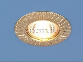 Точечный светильник для подвесных, натяжных и реечных потолков 7203 сатин золото (SG)