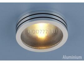 Точечный светильник из алюминия 5153 BK (хром / черный)