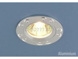Точечный светильник из алюминия 5805 (сатинированное серебро)
