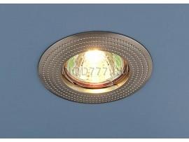 Точечный светильник круглый 601 SN (сатинированный никель)