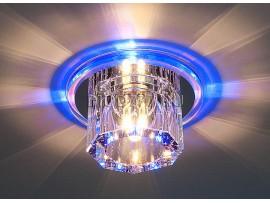 Точечный светильник со стеклянным плафоном и светодиодной подсветкой N4/A BL (синий)