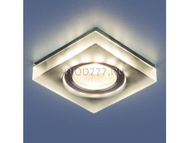 Точечный светильник со светодиодами 6063 MR16 Grey серый