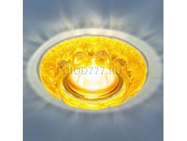 Точечный светильник со светодиодами 7249 MR16 GD золотой блеск