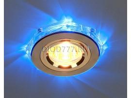 Точечный светильник светодиодный 2020/2 GD/LED/BL (золото / синий)