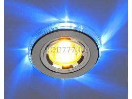 Точечный светильник светодиодный 2060/2 SL/LED/BL (хром / синий)