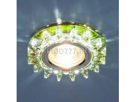 Точечный светильник светодиодный 6037 MR16 MLT мульти/хром