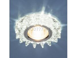 Точечный светильник светодиодный 6037 MR16  SL зеркальный/серебро
