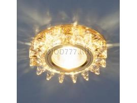 Точечный светильник светодиодный 6037 MR16 YL/GD зеркальный/золото