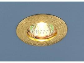 Точечный светильник золотой 601 G (золото)