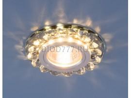 Точечный светодиодный светильник с хрусталем 6036 MR16 Gr дымчатый