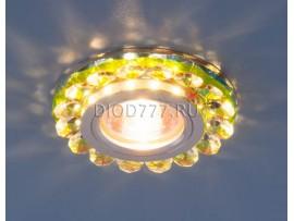 Точечный светодиодный светильник с хрусталем 6036 MR16 MLT мульти