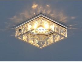 Встраиваемый потолочный светильник 7274 хром / прозрачный  (CH/Clear)