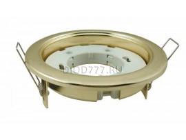 Встраиваемый светильник с цоколем GX53 HM GX53 золото (GL)