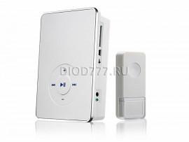 Звонок беспроводной DBQ10M WL MP3 16M IP44 Белый