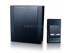 Звонок электромеханический DBQ16 WM 1M IP44 Черный
