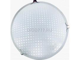 Светильник светодиодный (потолочный) СЛЛ 010 16Вт  Сапфир (6) стекло