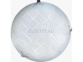 Светильник светодиодный (потолочный) СЛЛ 020 16Вт  Сириус (6) стекло