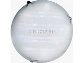 Светильник светодиодный (потолочный) СЛЛ 016 16Вт  Сирма (6) стекло