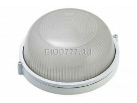Светильник баня 60 Вт круг/белый (LE 01 R-60-001)(20)