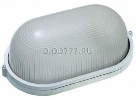 Светильник баня 60 Вт овал/белый (LE 01 O-60-001)(20)