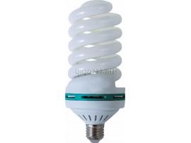 лампа энергосберегающая LE SP 55W NT/E27 (6400К) спираль (80х172) (50)