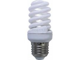лампа энергосберегающая LE SP2 25W NT/E27 (4200) спираль (54x116) (100)