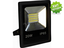 Прожектор светодиодный LE FL SMD LED3  20W CW (12) IP65 холодный белый