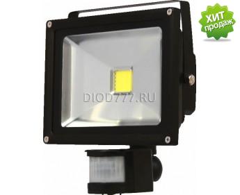 Прожектор светодиодный LE FL LED2 10W NT CW (30) IP65 (Classic) холодный белый с сенсором