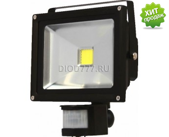 Прожектор светодиодный LE FL LED2 30W NT CW (8) IP65 (Classic) холодный белый с сенсором