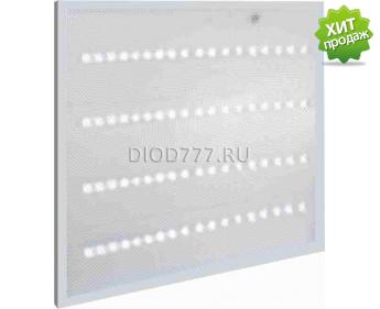 Светильник светодиодный  встраиваемый (квад) LE LED PL AL 36W S595 (2) (Цв.осн.: белый, толщ.28мм) холодный белый