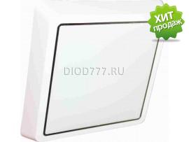 Светильник светодиодный накладной (квадрат)  LE LED BK SL 10W 6000K (20)