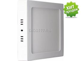 Светильник светодиодный накладной (квадрат) LE LED SLS 12W 6K (20)