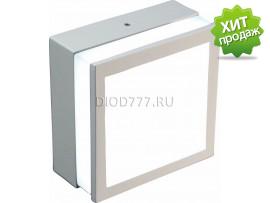 Светильник светодиодный накладной с просветом (квадрат) LE LED SL2S 12W 6K (20)