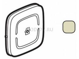 """Legrand Valena Allure MyHome Лицевая панель для механизмов BUS/SCS С символом """"GEN"""" 2 модуля Слоновая кость"""