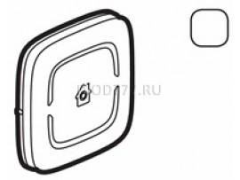 """Legrand Valena Allure MyHome Лицевая панель для механизмов BUS/SCS С символом """"GEN"""" 2 модуля Белая"""