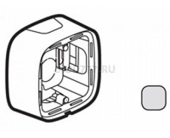 Legrand Valena Allure Коробка для накладного монтажа 1-постовая Алюминий