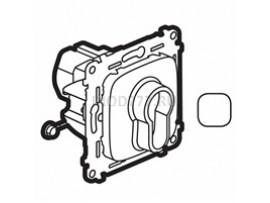 Legrand Valena Allure Выключатель с ключом, 2 положения 10А 230В С лицевой панелью Белый