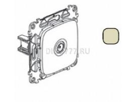 Legrand Valena Allure Розетка ТВ проходная 1, 5дБ/14дБ 0-2400 МГц С лицевой панелью Слоновая кость