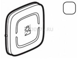 """Legrand Valena Allure MyHome Лицевая панель для механизмов BUS/SCS С символом """"Светорегулятор"""" 2 модуля Белая"""