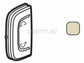 """Legrand Valena Allure MyHome Лицевая панель для механизмов BUS/SCS С символом """"Вверх-вниз"""" 1 модуль Установка справа или слева Слоновая кость"""