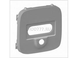 Legrand Valena Allure Розетка для аудио/видео устройств с разьемами HD15/гнездо Jack 3, 5мм С лицевой панелью Алюминий