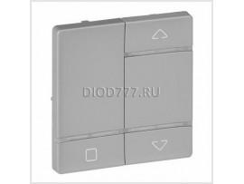Legrand Valena Life MyHome Play Zigbee Лицевая панель для радиоуправляющего устройства управления жалюзи/рольставень Алюминий