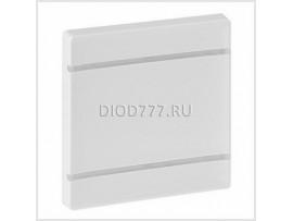 Legrand Valena Life MyHome Лицевая панель для механизмов BUS/SCS Без маркировки 2 модуля Белая