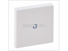 Legrand Valena Life Лицевая панель для выключателя одноклавишного с подсветкой/индикацией  Белая