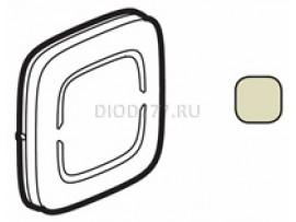 Legrand Valena Allure MyHome Лицевая панель для механизмов BUS/SCS Без маркировки 2 модуля Слоновая кость