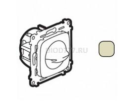 Legrand Valena Allure Выключатель вентилятора 4-позиционный С лицевой панелью Винтовые зажимы Слоновая кость