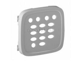 Legrand Valena Allure Лицевая панель для модуля расширения тюнера FM Алюминий