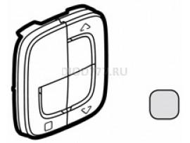 Legrand Valena Allure MyHome Play Zigbee Лицевая панель для радиоприемного выключателя, для приводов жалюзи/рольставень Алюминий